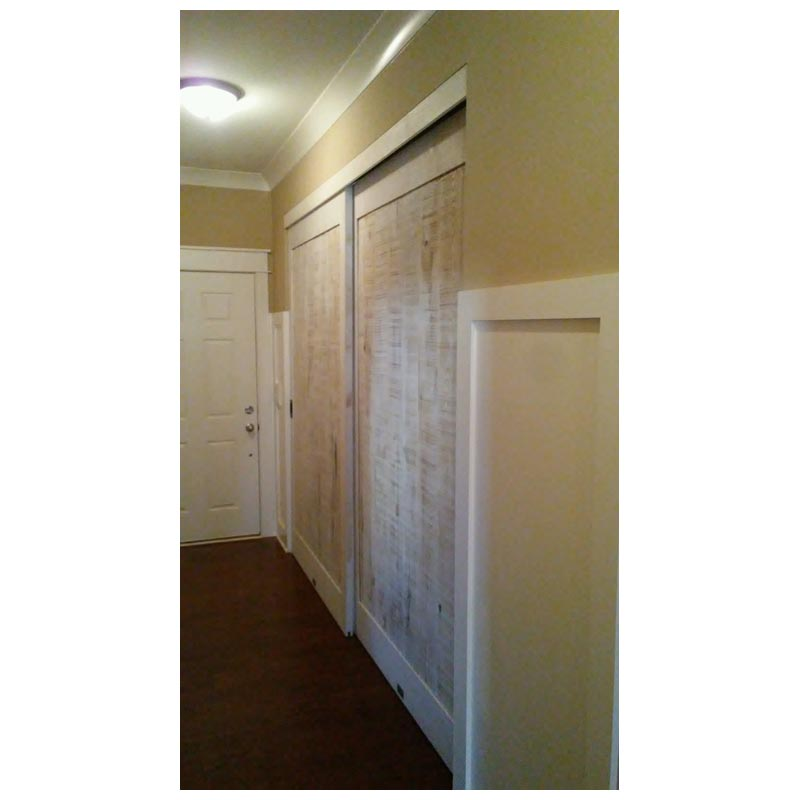 Semi Rustic doors