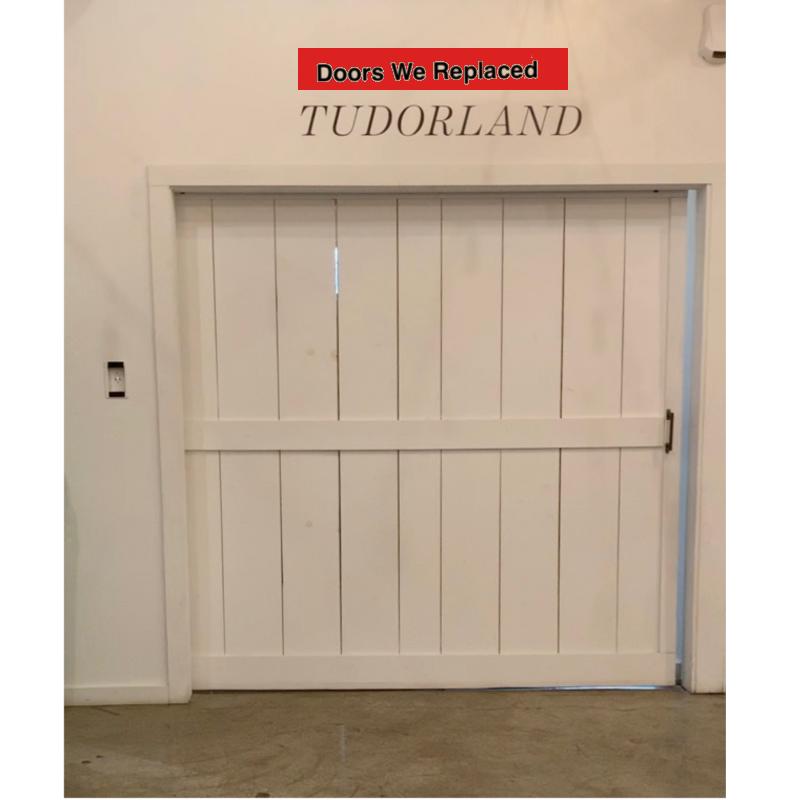Doors replaced