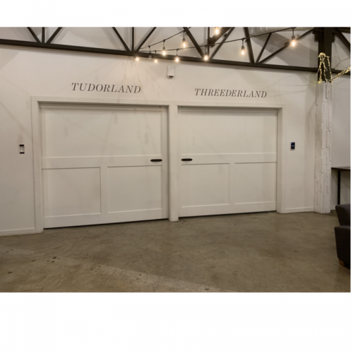 165 Simple Panel Tennessee Barn Doors