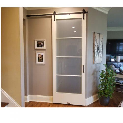 panel glass door