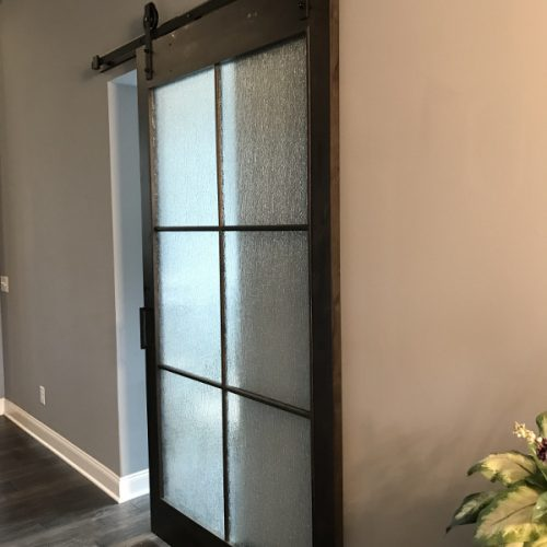 art Glass door