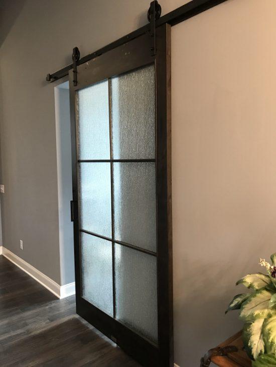 art Glass door