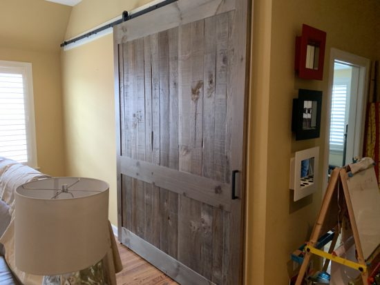 Wide semi rustic