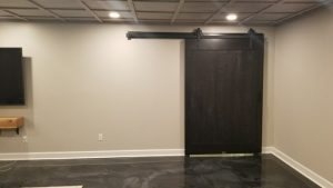 ebony door