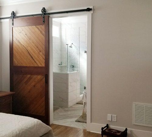 two-tone door